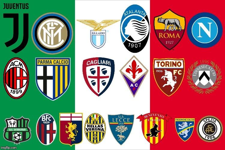 Lịch thi đấu bóng đá Serie A 2020-2021
