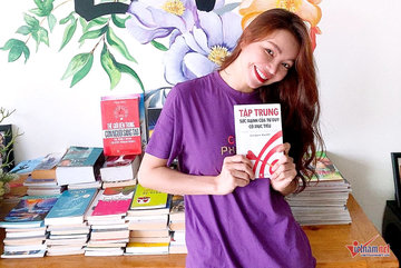 Trà Ngọc Hằng: Sách mang cho tôi phút bình yên giữa đời xô bồ