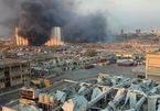 Khoảnh khắc vụ nổ và hiện trường tan hoang ở Beirut