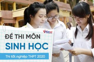 Đề thi tốt nghiệp THPT 2020 môn Sinh: Độ khó cao