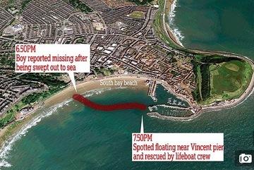 Bị cuốn ra biển, bé 10 tuổi thoát chết do nhớ chỉ dẫn trên tivi