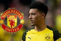 Dortmund quay ngoắt MU, tuyên bố nóng về Jadon Sancho