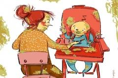 Khoảnh khắc người phụ nữ nào cũng trải qua khi nuôi con