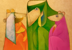 Triển lãm tôn vinh các hoạ sĩ mỹ thuật đương đại
