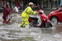 Miền Bắc mưa to, nguy cơ ngập úng nhiều nơi