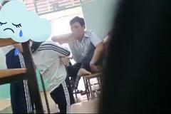 Nữ sinh lớp 7 bị thầy giáo bắt quỳ trong lớp
