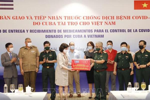 Cuba hỗ trợ Việt Nam thuốc kích thích sinh kháng thể chống Covid-19