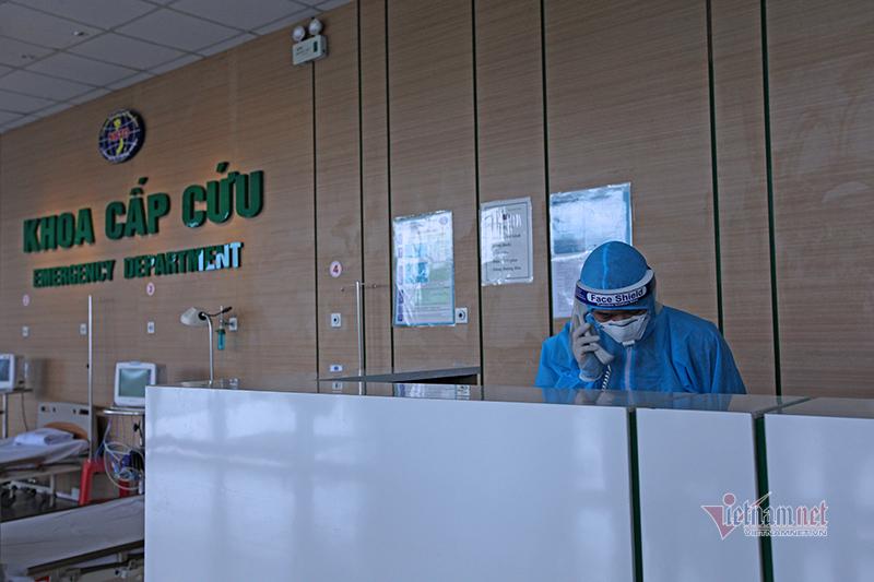 Bệnh nhân Covid-19 ở Hà Nội nhiễm khuẩn huyết, tổn thương phổi nặng