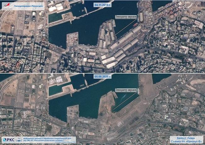 Vụ nổ tại cảng Beirut tạo ra hố rộng hơn trăm mét