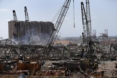 Video cảng Beirut trước và sau thảm họa