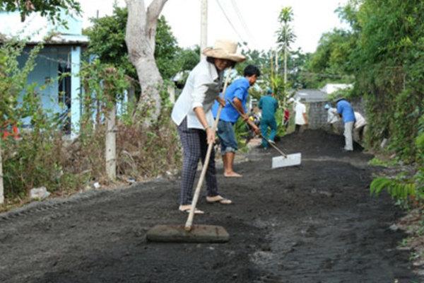 Đất Đỏ hướng tới mục tiêu huyện NTM nâng cao vào năm 2025
