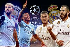 Xem trực tiếp Man City vs Real Madrid ở kênh nào?