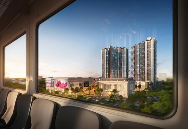 Mipec Rubik360 hưởng lợi từ tuyến metro Nhổn - Ga Hà Nội liền kề
