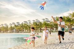 'Kỳ nghỉ hè ở biển' giữa lòng Hà Nội