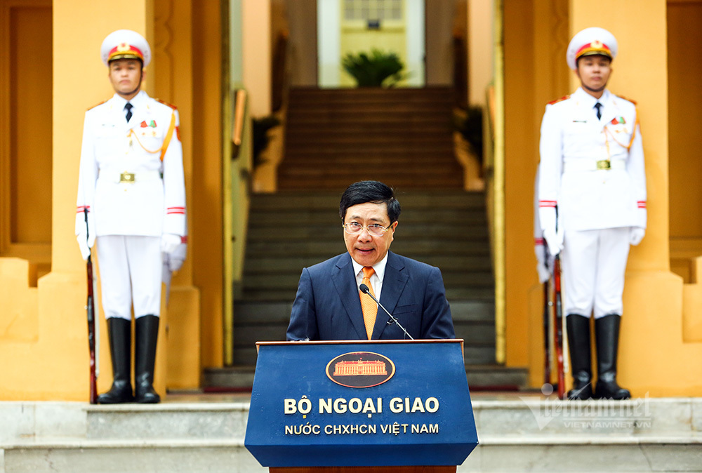 Lễ thượng cờ kỷ niệm 53 năm thành lập ASEAN tại Hà Nội