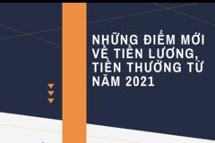 Những thay đổi về tiền lương, thưởng từ năm 2021