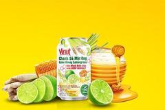 Thức uống mới cho mùa hè: nước chanh sả mật ong với muối biển sâu Vinut