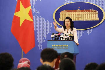Vietnam condemns China's illegal moves, confirmsrespect for international law in East Sea