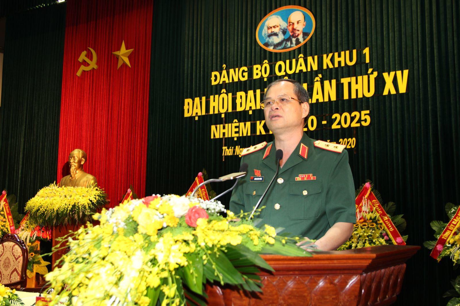 Bốn tướng lĩnh được bầu làm Bí thư Đảng ủy bốn quân khu