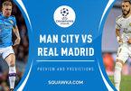 Trực tiếp Man City vs Real Madrid: Tử chiến vì vé tứ kết