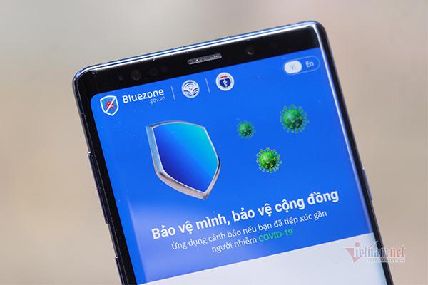 Số lượng tải Bluezone tăng vọt, đạt mốc 10 triệu người