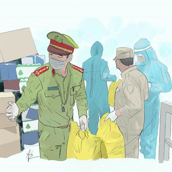 covid-19 pandemic,vietnam paintings,vietnam arts
