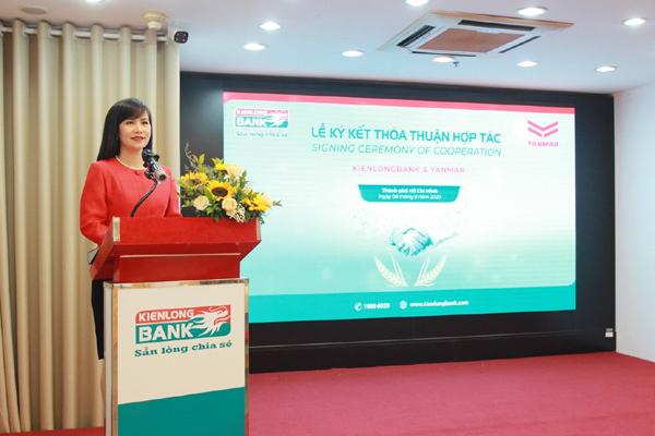 Yanmar Việt Nam hợp tác toàn diện với KienLong Bank