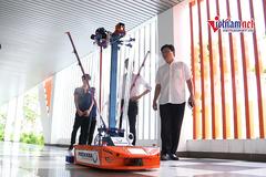 Việt Nam chế tạo robot diệt khuẩn '3 trong 1' ứng dụng công nghệ mới nhất TG