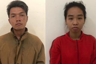 Bắt cặp vợ chồng chở hai con nhỏ đi cướp giật ở Sài Gòn