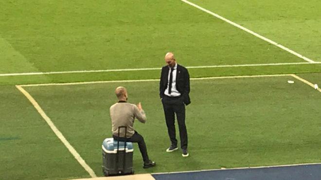 Zidane lần đầu bị loại ở C1, tâm phục Pep và Man City