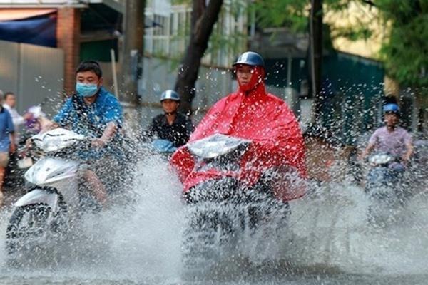Miền Bắc sắp đón mưa lớn diện rộng