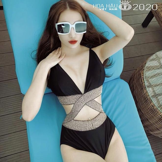Thí sinh Hoa hậu Việt Nam 2020 gây chú ý khi diện áo tắm