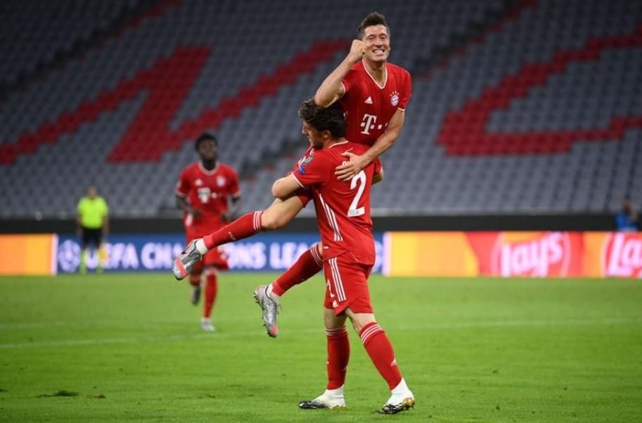 Xác định 4 cặp đấu ở tứ kết Champions League