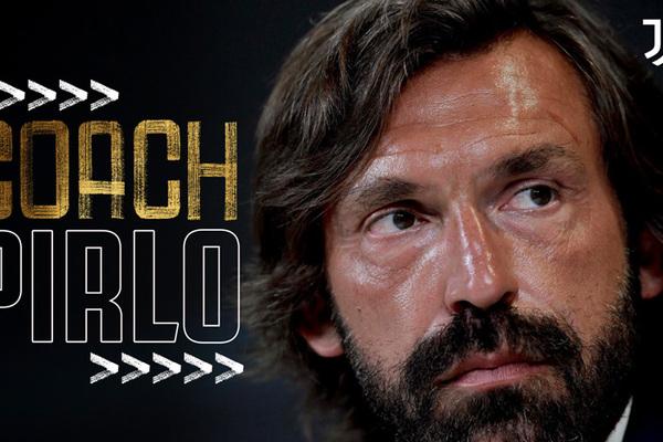 Andrea Pirlo được bổ nhiệm làm HLV trưởng Juventus