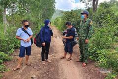 Nhóm người từ Nghệ An vào Quảng Trị, định vượt biên thì bị bắt
