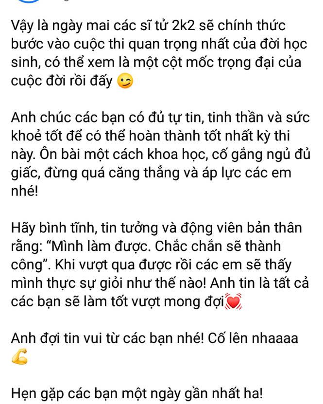 H'Hen Niê, Ngọc Trinh và dàn sao Việt 'tiếp lửa' cho các sĩ tử