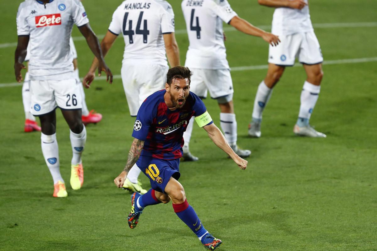 Barca vào tứ kết Cúp C1: Thiên tài Messi