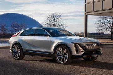 Ngắm mẫu xe điện đầu tiên của hãng Cadillac