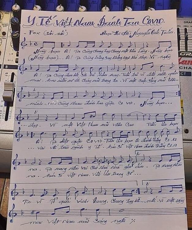 Các bài hát cổ vũ tinh thần chống dịch Covid-19