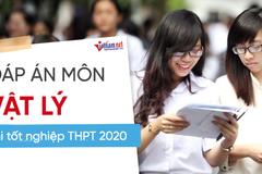 Đáp án tham khảo môn Vật lý thi tốt nghiệp THPT 2020, mã đề số 212