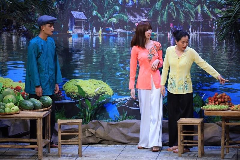 Hoa hậu Thu Hoài, Anh Tài ứng biến tài tình ở 'Ơn giời'