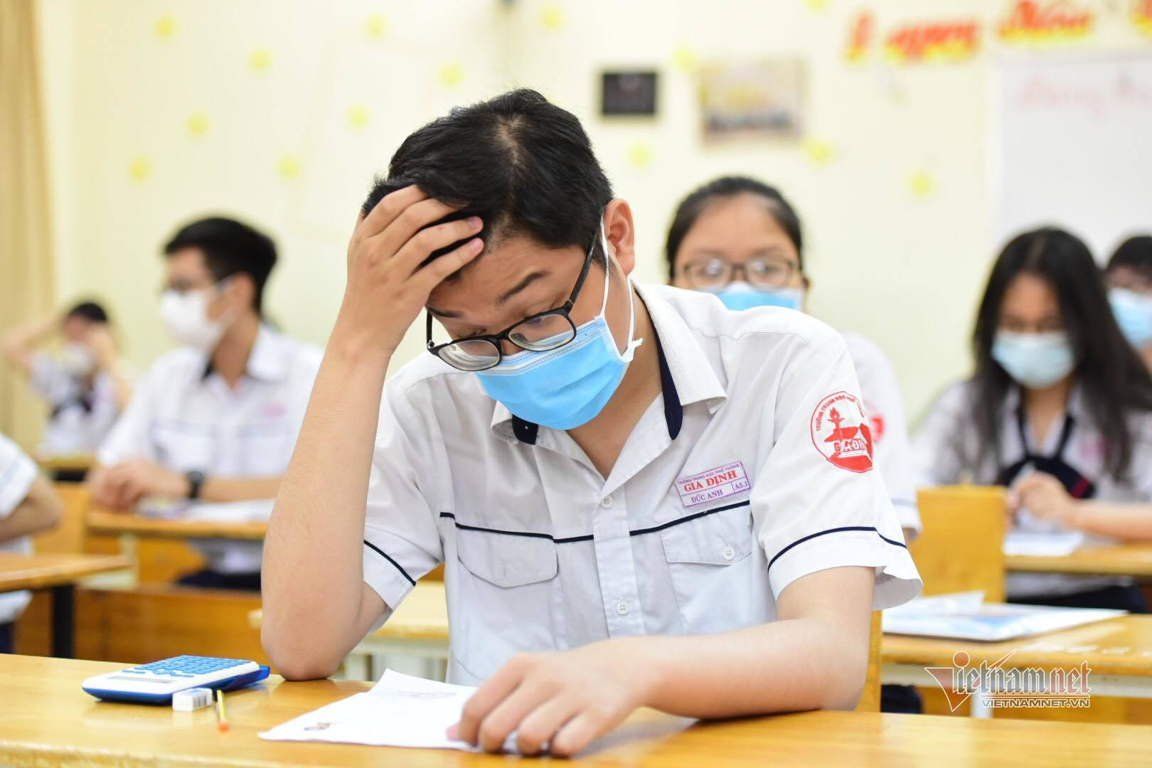 Sĩ tử hoàn thành bài thi cuối cùng của kỳ thi tốt nghiệp 'chưa từng có'