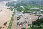 Thiên tai, mưa bão nối tiếp đổ ập vào Hàn Quốc