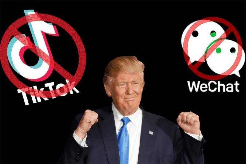 Mỹ lệnh 'cấm cửa' hoàn toàn WeChat và TikTok
