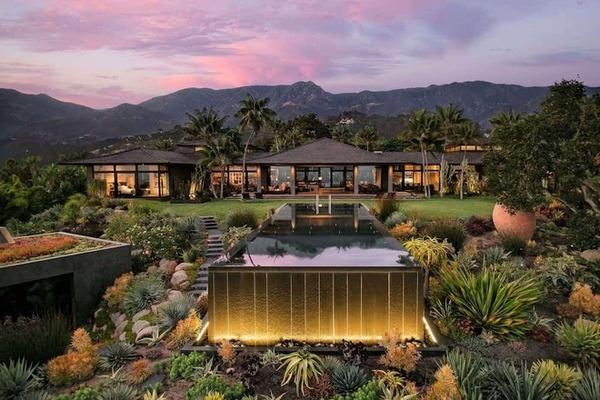 Biệt thự nghỉ dưỡng 27 triệu USD của Ellen DeGeneres