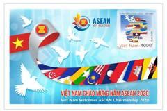 Bưu chính Việt Nam phát hành tem chào mừng Năm ASEAN 2020