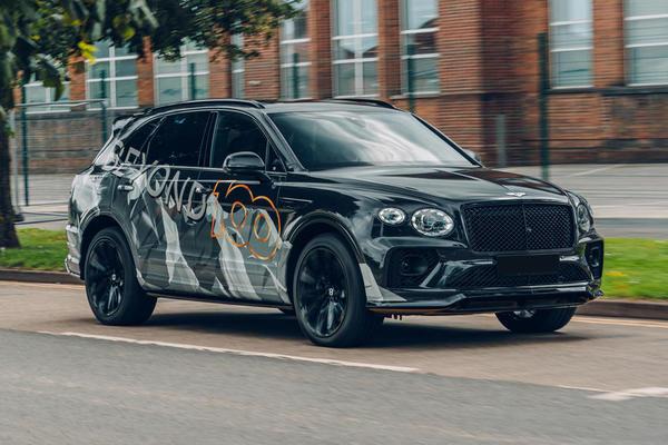 Lộ diện siêu SUV nhanh nhất thế giới của Bentley