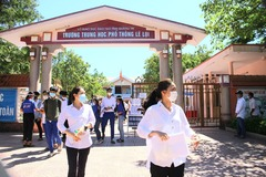 Quảng Trị thay khẩn cấp 5 giám thị trong ngày thứ 2 thi tốt nghiệp THPT