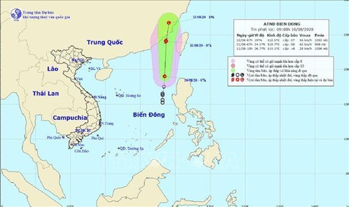 Tropical depression likely to develop into storm