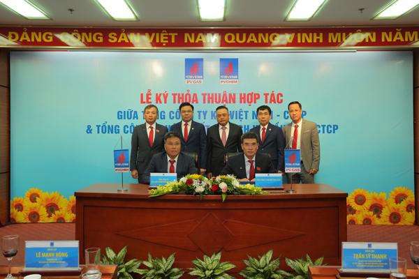 4 tổng công ty đầu ngành của PVN bắt tay hợp tác kinh doanh